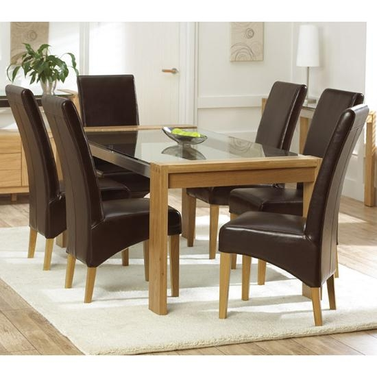 Pub Dining Table And Its Benefits – Home Decor Pertaining To Glass Top Oak Dining Tables (Image 14 of 20)