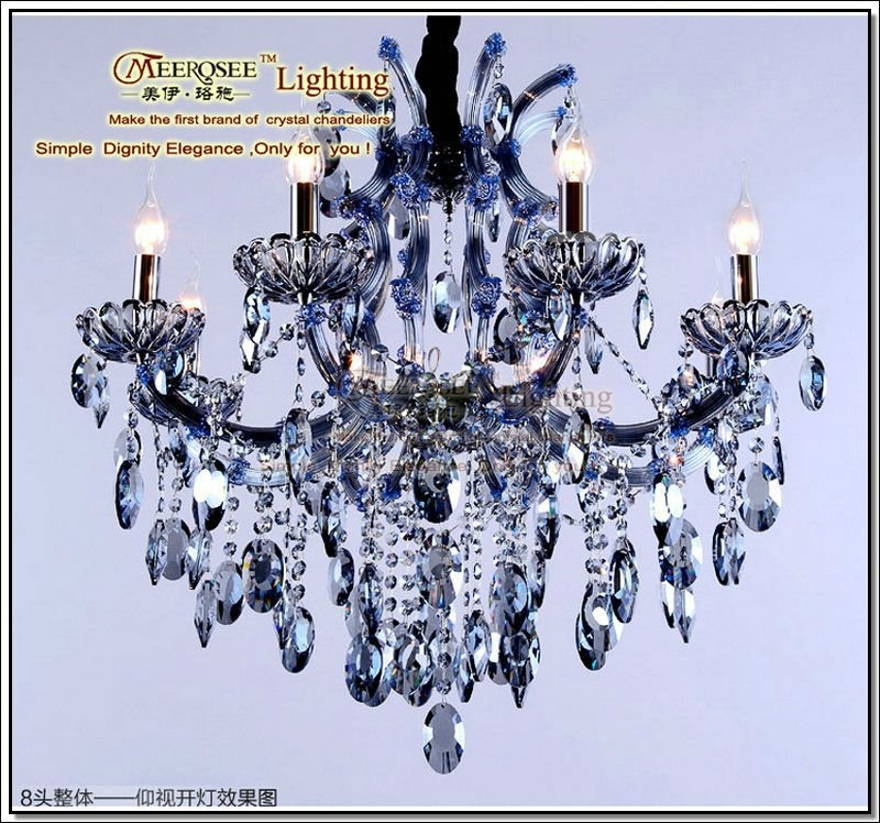 Purple Crystal Chandelier Purple Crystal Chandelier Suppliers And Pertaining To Purple Crystal Chandeliers (View 15 of 25)