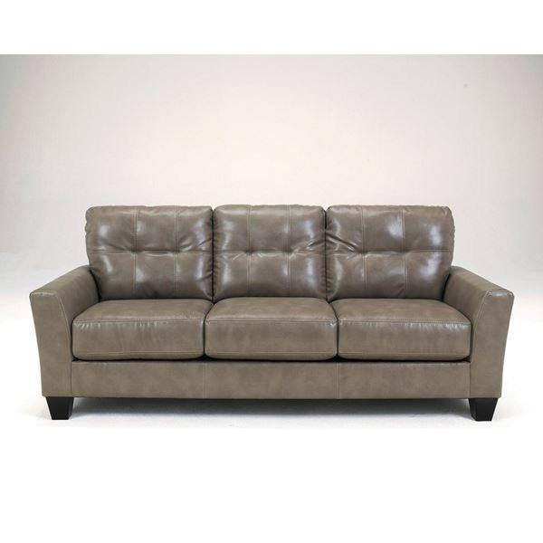 Quarry Bonded Leather Sofa 0B2 270S | Ashley 2700138 | Afw Throughout Bonded Leather Sofas (Photo 18 of 20)