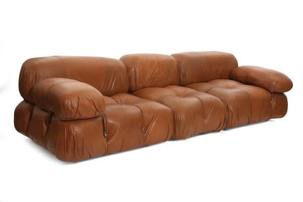 Rare Mario Bellini Camaleonda Sofa And Ottomans | Red Modern Furniture Within Bellini Sofas (View 4 of 20)