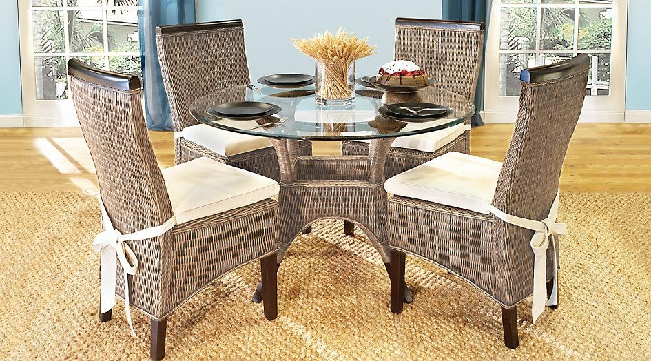 Rattan Dining Room Chairs Beauty | Egovjournal – Home Design Inside Rattan Dining Tables And Chairs (Image 17 of 20)