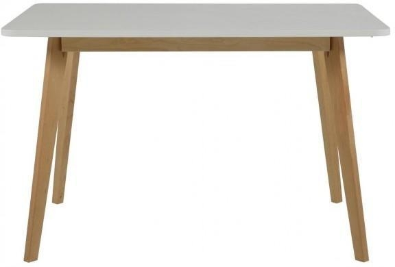 Raven Dining Table Birch Frame And White Topactona | Dining Tables Throughout Birch Dining Tables (Image 12 of 20)