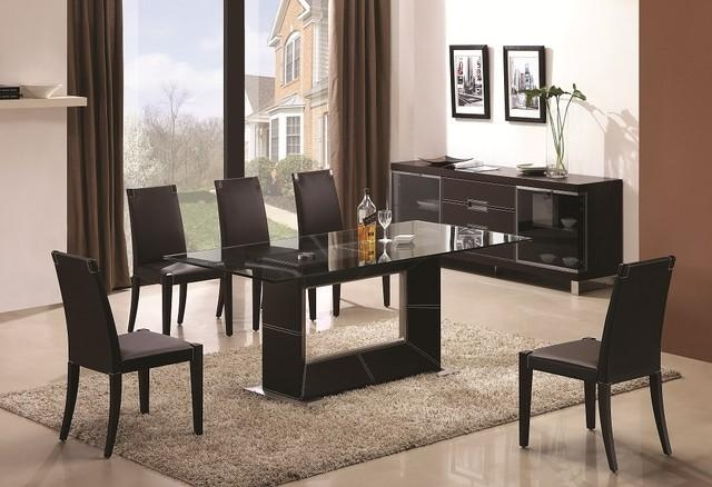 Rectangle Glass Dining Table | Kobe Table With Rectangular Dining Tables Sets (View 15 of 20)