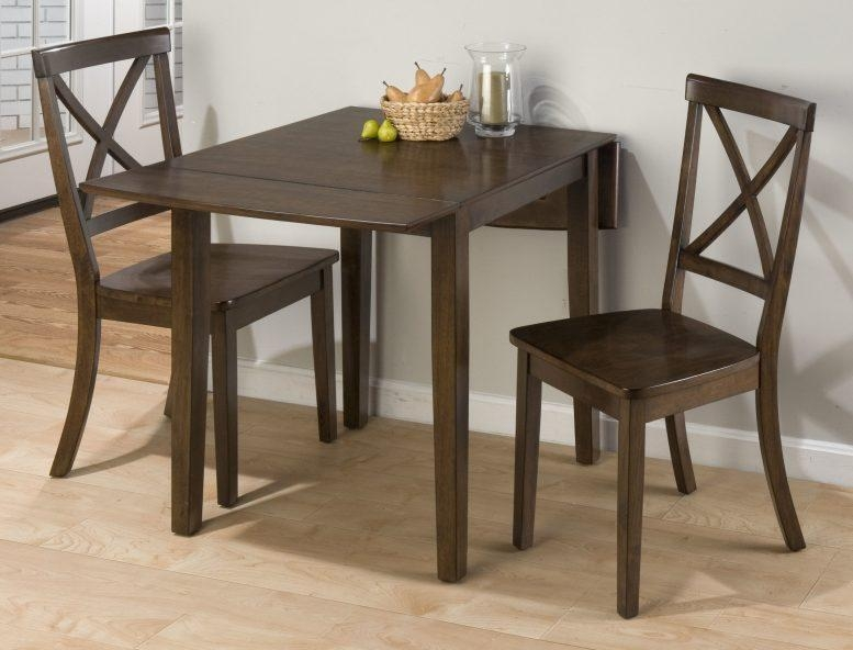 Rectangular Drop Leaf Kitchen Table Brown Rug White Rustic Chair With Cream Lacquer Dining Tables (Image 10 of 20)