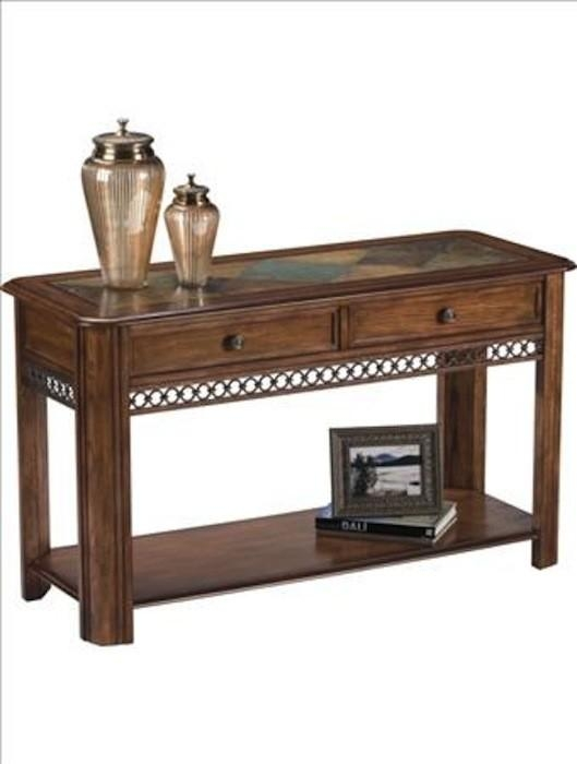 Rectangular End Table Pertaining To Slate Sofa Tables (Image 7 of 20)