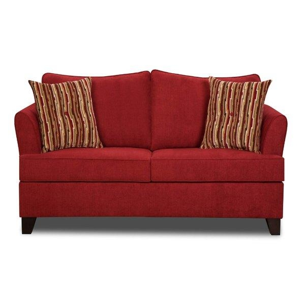 Red Barrel Studio Simmons Upholstery Antin Loveseat Sleeper Sofa Within Simmons Sofa Beds (Image 11 of 20)