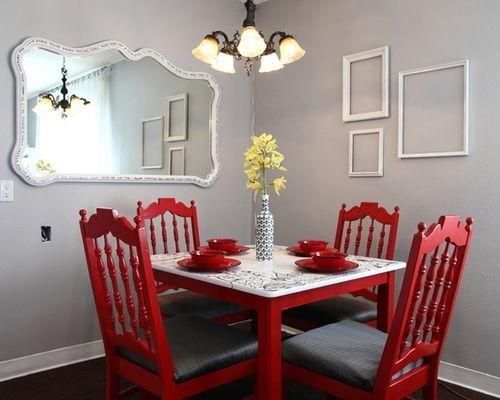 Red Chair | Houzz Regarding Red Dining Tables And Chairs (Image 16 of 20)