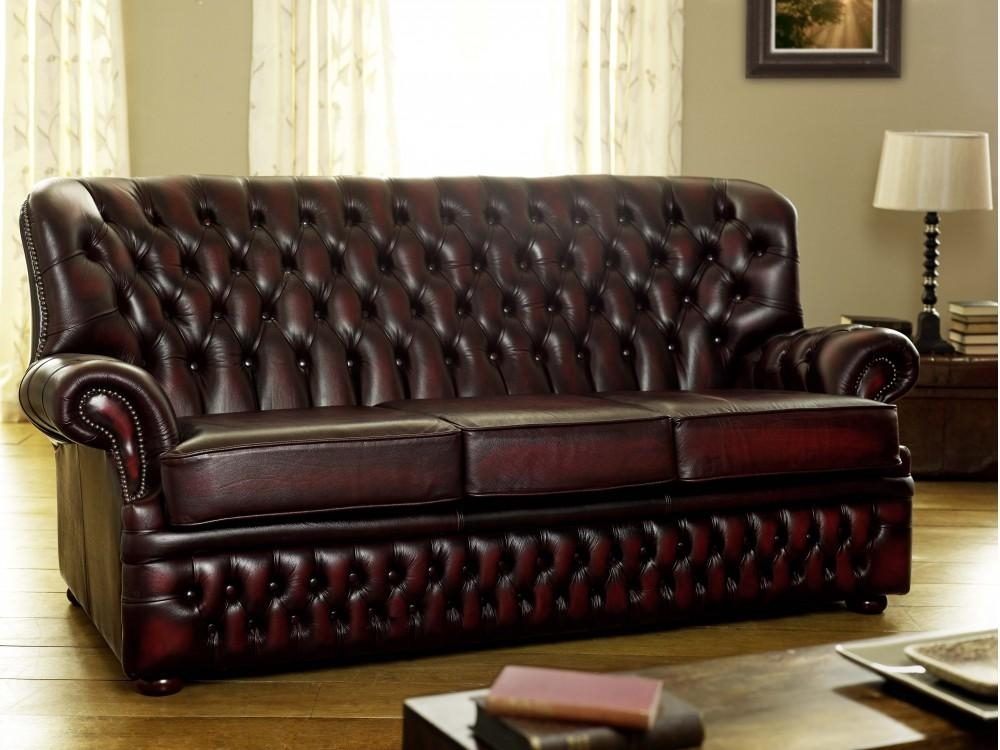 Featured Image of Dark Red Leather Couches