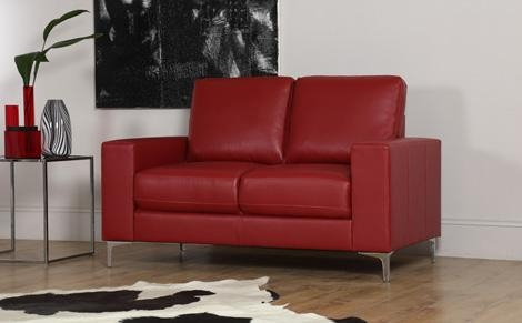 Red Leather Sofas | Furniture Choice Regarding Dark Red Leather Sofas (Image 20 of 20)