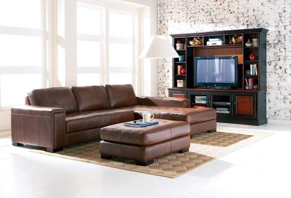 Rediscovering The Elegancy10 Brown Leather Sofas – Designoursign Inside Contemporary Brown Leather Sofas (Image 19 of 20)