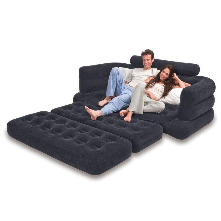 Remarkable Air Mattress Sleeper Sofa – Interiorvues Throughout Intex Sleep Sofas (Image 19 of 20)