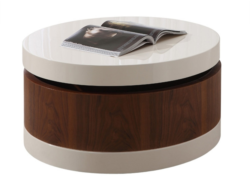 Remarkable Best Circular Coffee Tables With Storage Inside Cheap Coffee Tables With Storage Chest Coffee Table White Trunk (Image 35 of 50)
