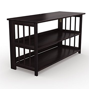 Remarkable Best Expresso TV Stands For Amazon Stony Edge Tv Stand And Bookshelf With Usb Port (View 44 of 50)
