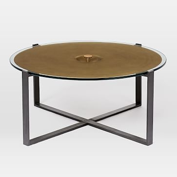 Remarkable Best Glass And Metal Coffee Tables Intended For Glass Metal Coffee Table West Elm (Image 41 of 50)