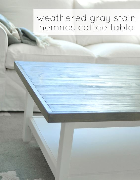 Remarkable Best Gray Wood Coffee Tables Throughout Best 25 Grey Stained Wood Table Ideas On Pinterest Grey House (Image 36 of 50)