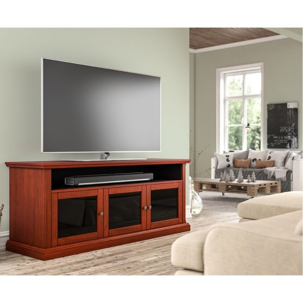 Remarkable Best Light Cherry TV Stands Pertaining To Tv Stands Balboamarina (Image 41 of 50)