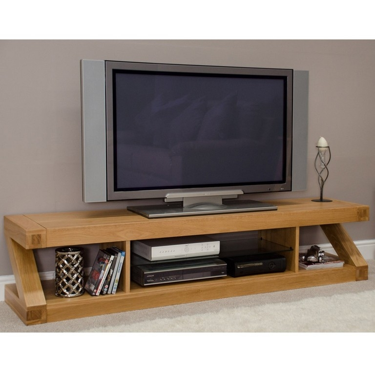 Remarkable Best Modern Oak TV Stands In Corner Oak Tv Unit Medium Image For Gallery Of Wooden Tv Stand (View 33 of 50)