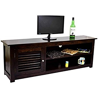 Remarkable Best Sheesham Wood TV Stands With Regard To Decor Savvy Pure Sheesham Wood Tv Unit Wooden Tv Cabinet Tv (View 30 of 50)