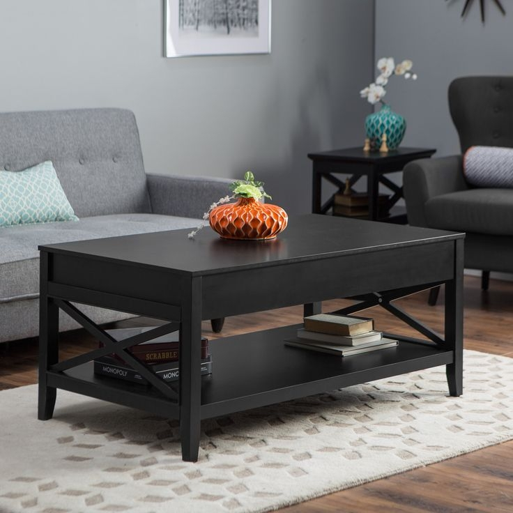 Remarkable Best Square Black Coffee Tables Regarding Best 25 Black Coffee Tables Ideas On Pinterest Coffee Table (View 39 of 40)