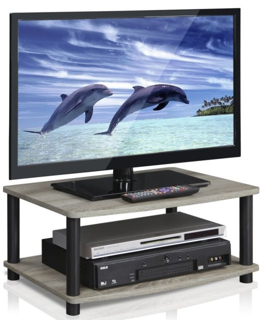 Remarkable Brand New Elevated TV Stands With Furinno 13191gywbk Turn N Tube No Tools 2 Tier Elevated Tv Stands (Image 34 of 50)