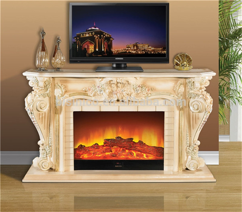 Remarkable Brand New French Country TV Stands Pertaining To Empire French Roroco Style Tv Stand Electric Stove Heater (View 33 of 50)