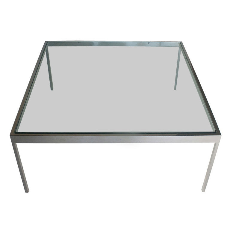 Remarkable Brand New Glass Steel Coffee Tables With Sophisticated Stainless Steel Coffee Table For Modern Living Room (Image 41 of 50)