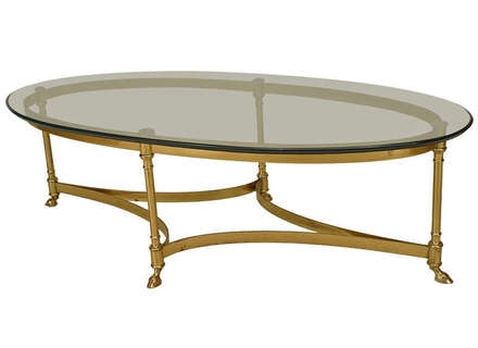 Remarkable Brand New Metal Oval Coffee Tables Pertaining To Oval Coffee Table Glass Jerichomafjarproject (View 20 of 50)