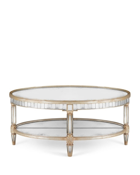 Remarkable Brand New Mirrored Coffee Tables With John Richard Collection Keene Mirrored Coffee Table (View 41 of 50)