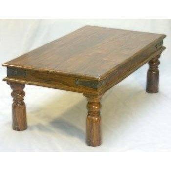Remarkable Brand New Sheesham Coffee Tables With Sheesham Thakat Coffee Table Amazoncouk Kitchen Home (View 48 of 50)