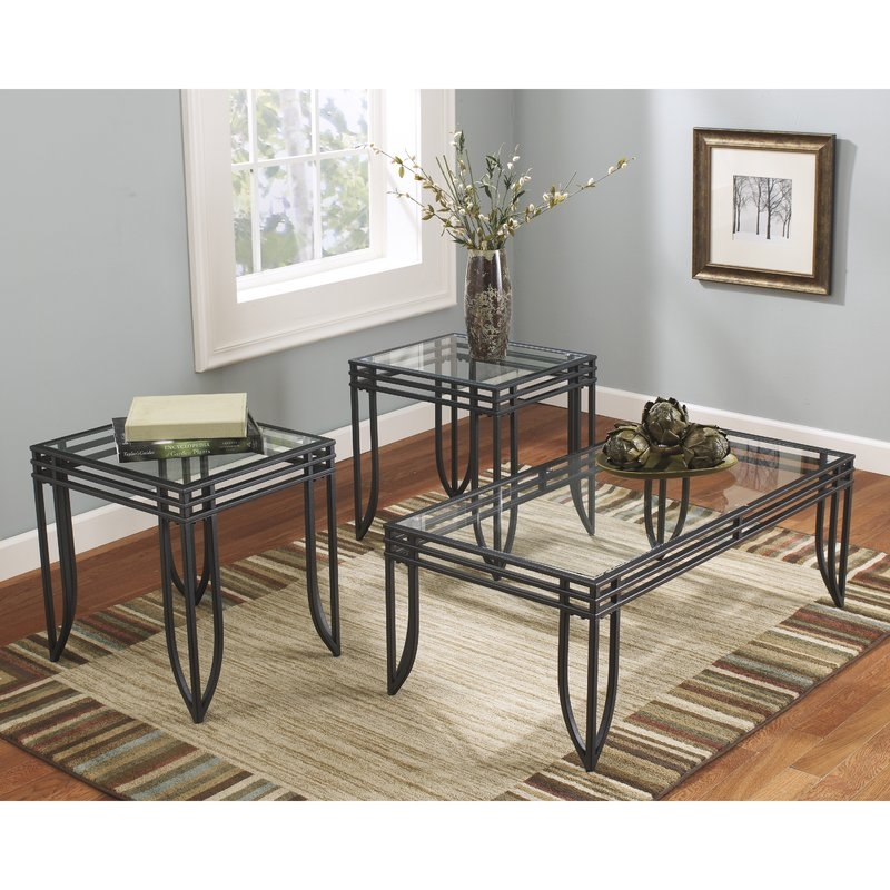 Remarkable Brand New Wayfair Coffee Table Sets Within Flash Furniture Exeter 3 Piece Coffee Table Set Reviews Wayfair (Image 36 of 50)