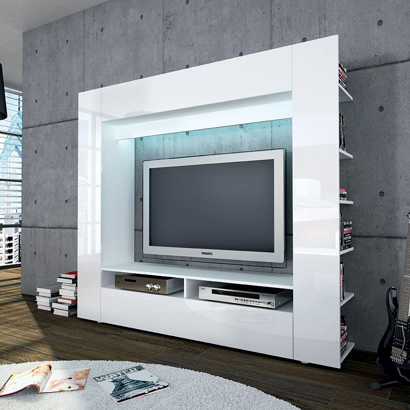 Remarkable Brand New White Glass TV Stands For High Tv Stand For Living Room Tv Stand For Living Room Bedroom (Image 41 of 50)