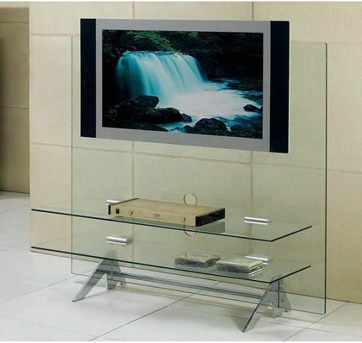 Remarkable Common Contemporary Glass TV Stands Regarding Best 25 Tv Stand With Wheels Ideas On Pinterest Storage Box (Image 34 of 50)