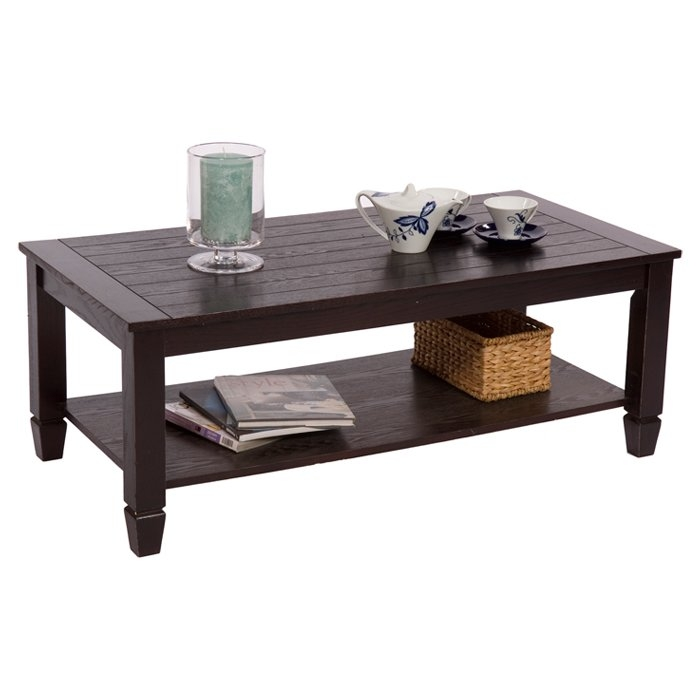 Remarkable Common Espresso Coffee Tables For Espresso Coffee Tables Youll Love Wayfair (View 5 of 50)