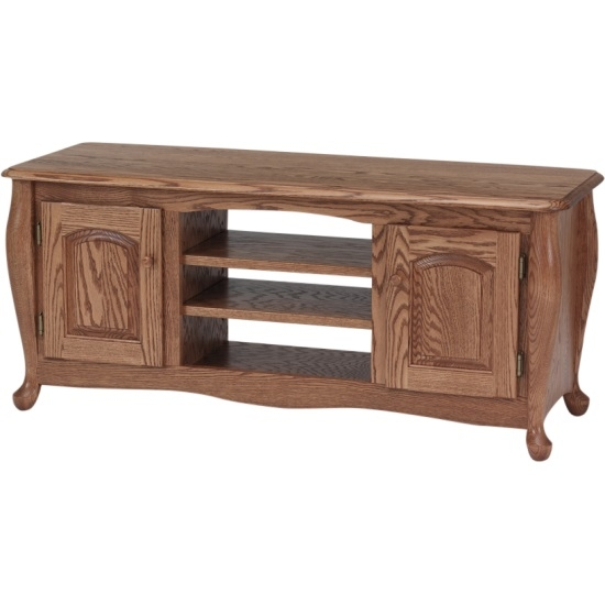 Remarkable Common Hardwood TV Stands Within Queen Anne Solid Oak Tv Stand Wcabinet 51 The Oak Furniture Shop (View 46 of 50)