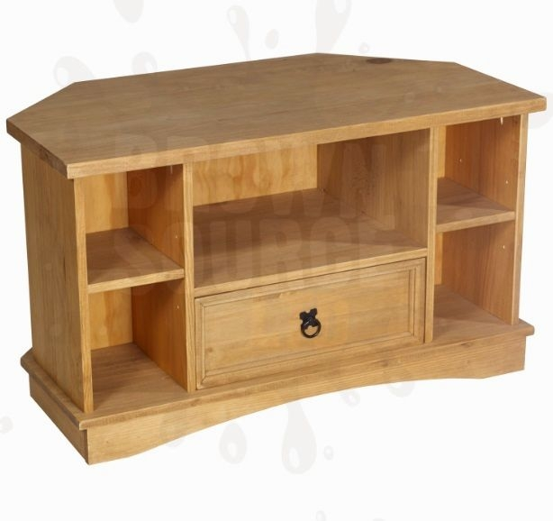 Remarkable Common Real Wood Corner TV Stands With Regard To Solid Wood Corner Tv Stand  (Image 45 of 50)
