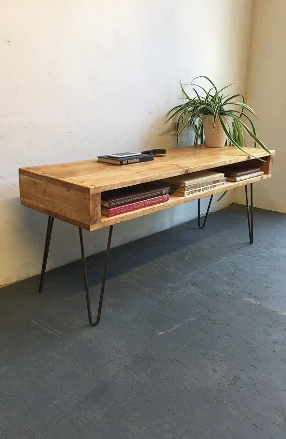 Remarkable Common Rustic Coffee Tables And Tv Stands Intended For Best 20 Industrial Tv Stand Ideas On Pinterest Industrial Media (View 10 of 50)