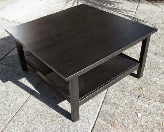 Remarkable Common Square Black Coffee Tables With Square Black Coffee Table (View 26 of 40)