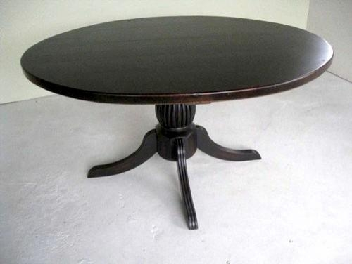 Remarkable Decoration Round Black Dining Table Shocking Ideas With Regard To Black Circular Dining Tables (View 15 of 20)