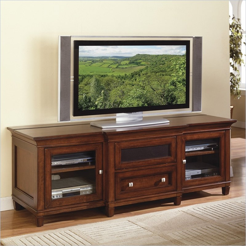 Remarkable Deluxe Cherry Wood TV Cabinets Throughout Top 10 Tv Stands (View 1 of 50)