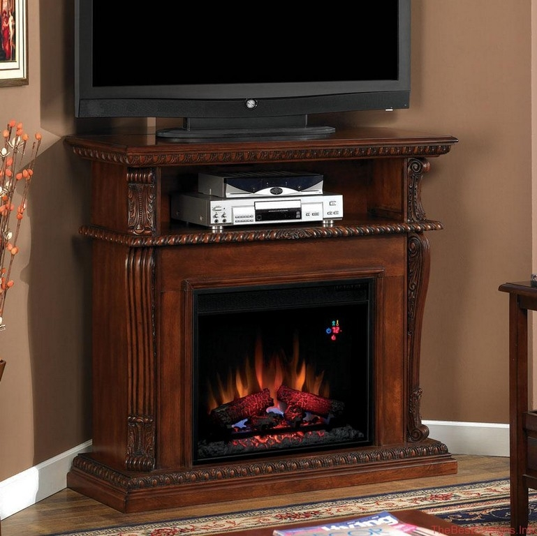 Remarkable Deluxe Corner TV Stands With Bracket Intended For Corner Tv Stand With Bracket (Image 32 of 50)