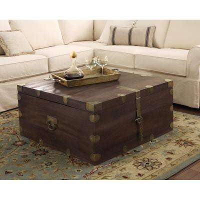 Remarkable Deluxe Dark Brown Coffee Tables Throughout Dark Brown Wood Accent Tables Living Room Furniture The Home (View 31 of 50)