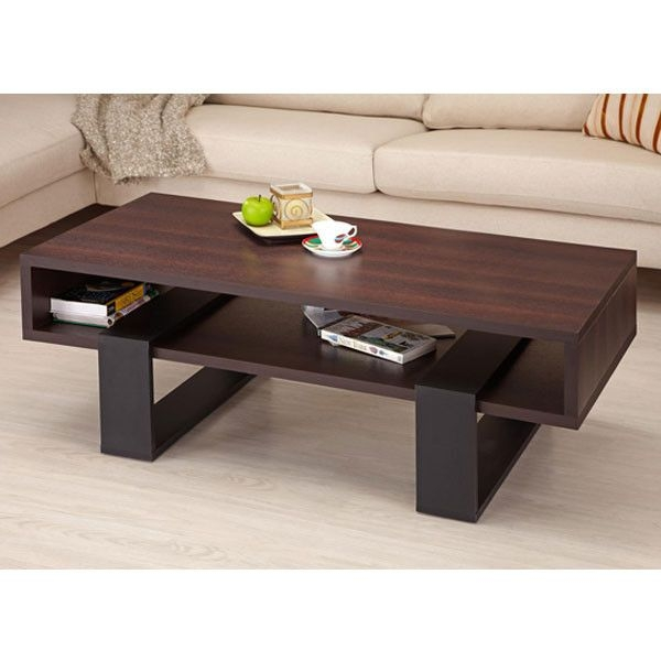 Remarkable Deluxe Dark Wooden Coffee Tables Regarding 17 Best Coffee Tables Images On Pinterest Coffee Tables Modern (Image 37 of 50)