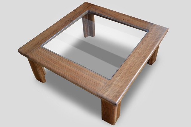 Remarkable Deluxe Glass And Oak Coffee Tables With Regard To Coffee Table Square Coffee Table With Glass Top High European (Image 39 of 50)
