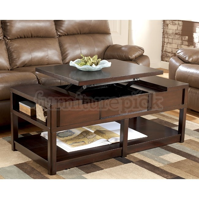 Remarkable Deluxe Lift Top Coffee Table Furniture Within Lift Top Coffee Table Set (View 14 of 50)