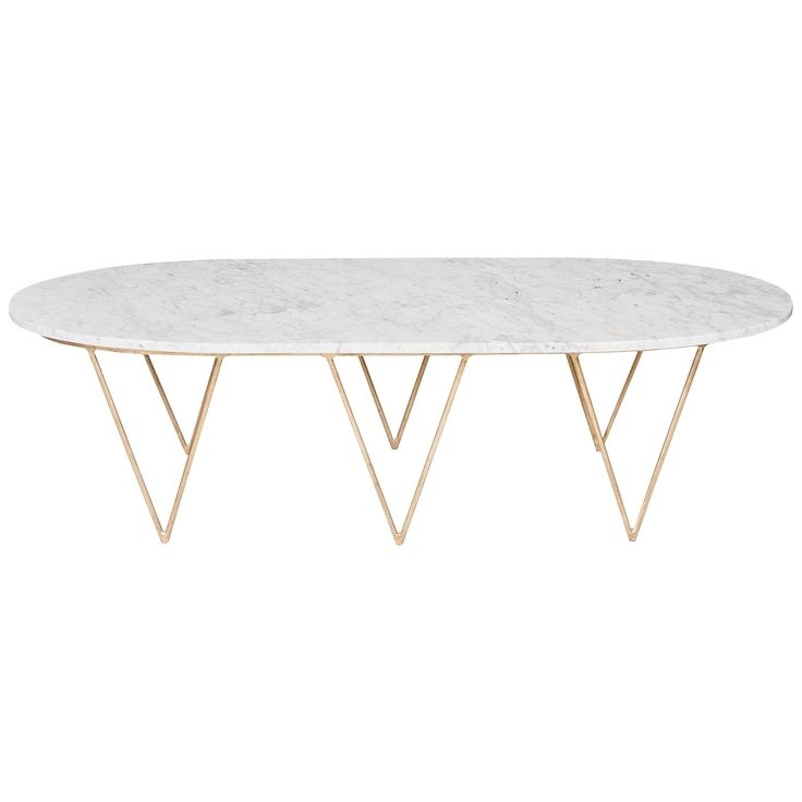 Remarkable Deluxe Oval White Coffee Tables For 66 Best Coffee Tables Images On Pinterest (Image 40 of 50)