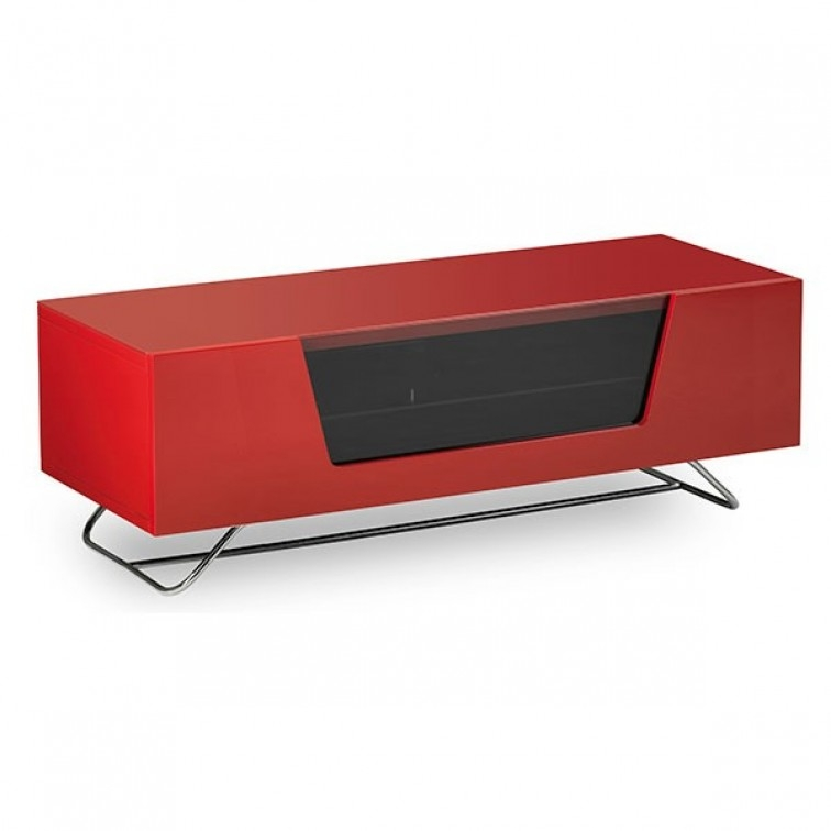 Remarkable Deluxe Red TV Cabinets For Alphason Tv Stands And Cabinets Chromium Tv Stand Standland Uk (Image 41 of 50)