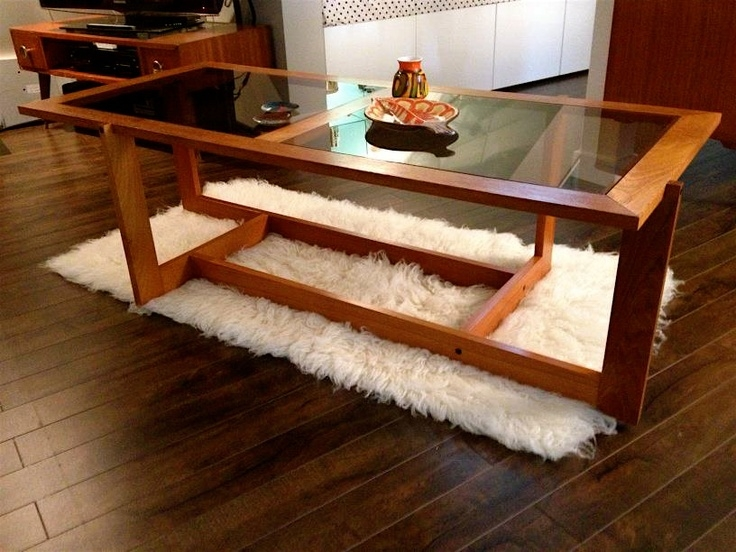 Remarkable Deluxe Retro Teak Glass Coffee Tables Inside 96 Best Dont Put Your Coffee On That Table Images On Pinterest (View 4 of 50)