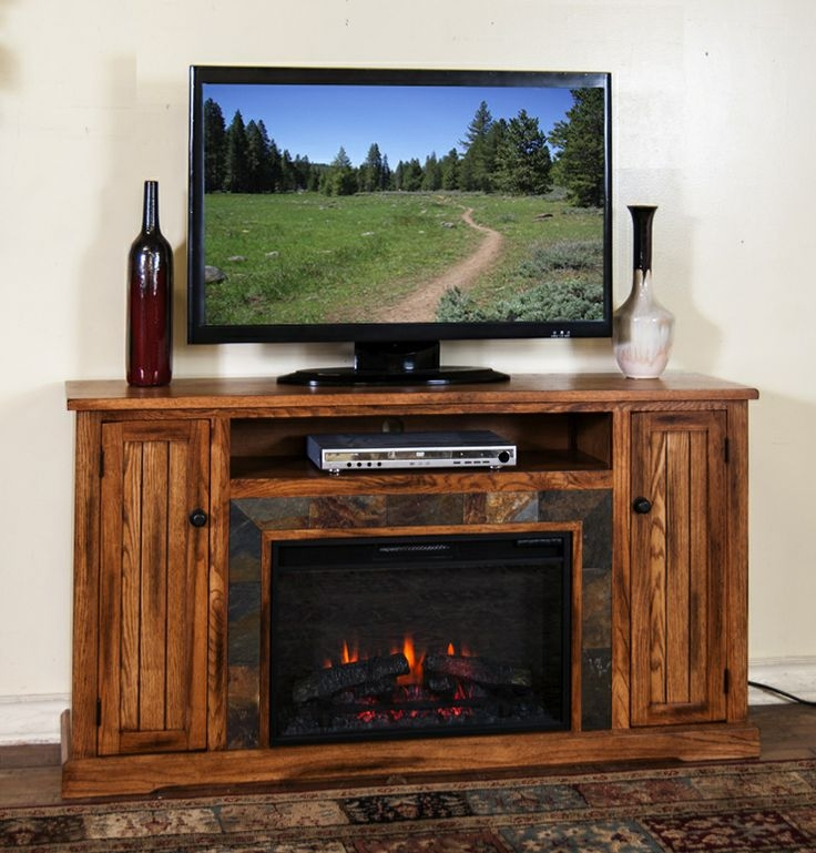 Remarkable Deluxe Rustic Looking TV Stands In 20 Best Fireplace Images On Pinterest Electric Fireplaces (Image 39 of 50)