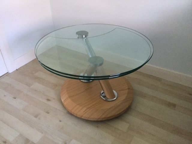 Remarkable Deluxe Tokyo Coffee Tables For Tokyo Swivel Glass Coffee Table In Kingswells Aberdeen Gumtree (Image 41 of 50)