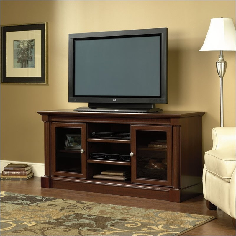 Remarkable Deluxe TV Stands And Cabinets Inside Tv Stands Interesting Sauder Tv Stands And Cabinets Design Ideas (View 35 of 50)